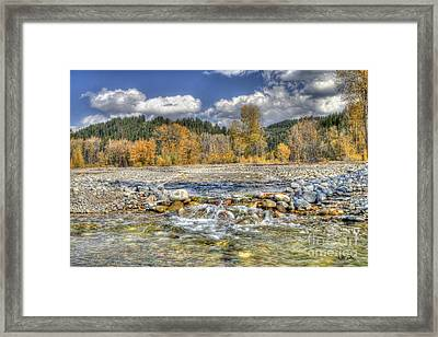 Clear Stream Framed Print