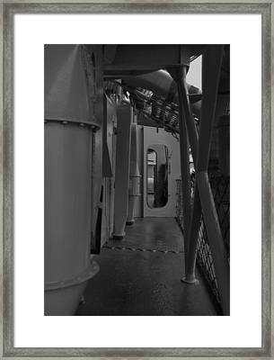 Clear The Passageway Framed Print by Richard Booth