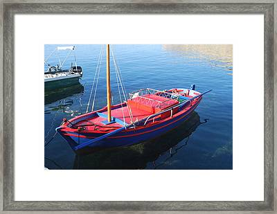 Clear Waters Framed Print by George Katechis