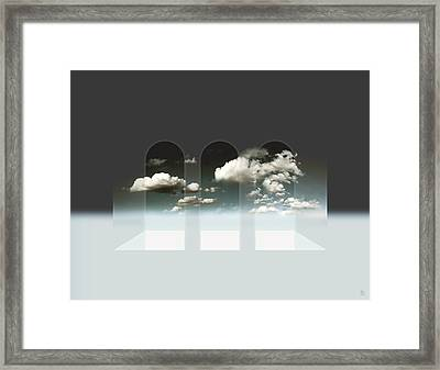 Clear Window Framed Print