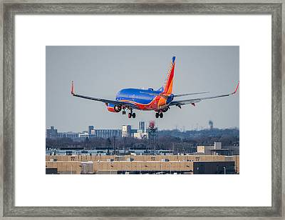 Cleared For Landing Framed Print by Tom Gort