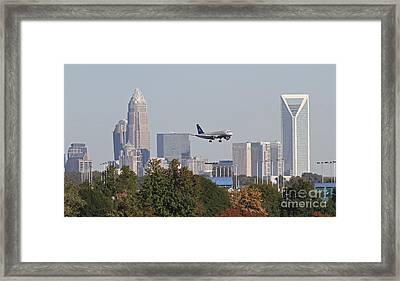 Cleared To Land Framed Print