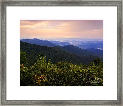 Clearing After A Storm Framed Print
