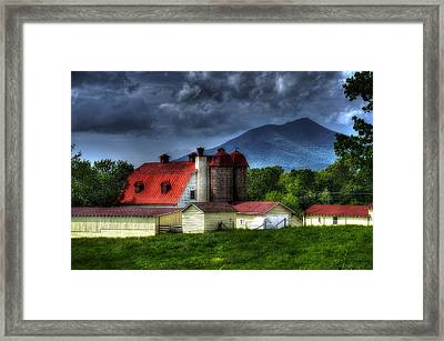 Clearing After A Storm Framed Print by Steve Hurt
