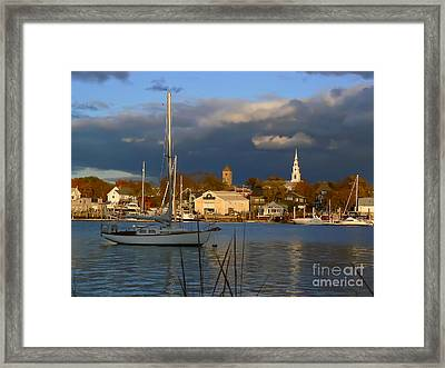 Clearing Framed Print by Butch Lombardi