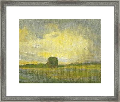 Clearing Framed Print