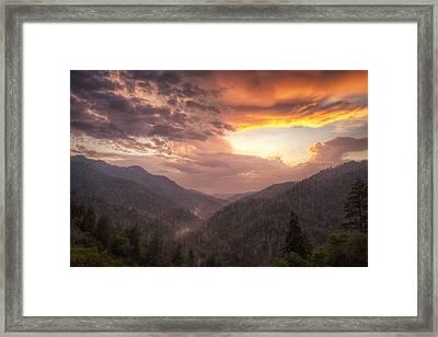 Clearing Skies Framed Print