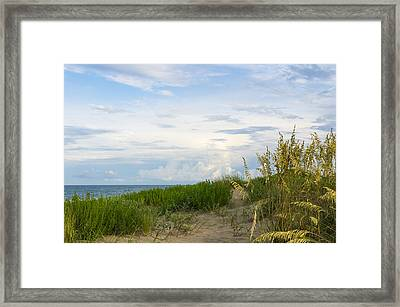 Clearing Sky Framed Print