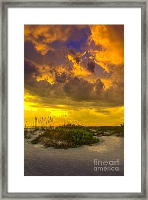 Clearing Skies Framed Print by Marvin Spates