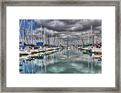 Clearing Storm Framed Print by Heidi Smith