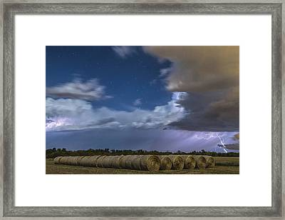 Framed Print featuring the photograph Clearing Storm by Rob Graham