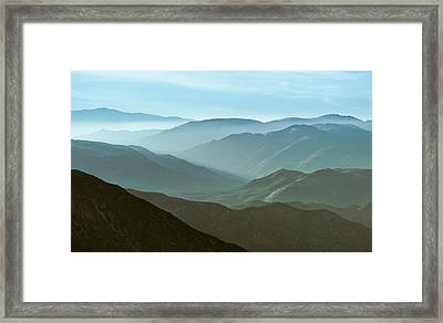 Clearing Your Head Framed Print