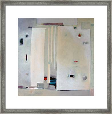 Clearly Obscured Framed Print by Dale  Witherow