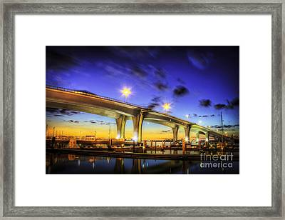 Clearwater Bridge Framed Print