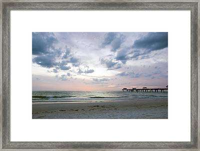 Clearwater Fishing Pier Framed Print