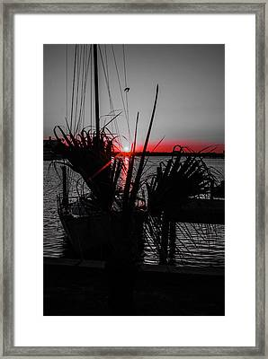 Clearwater Sunrise Framed Print