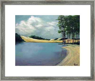 Cleawox Lake Framed Print