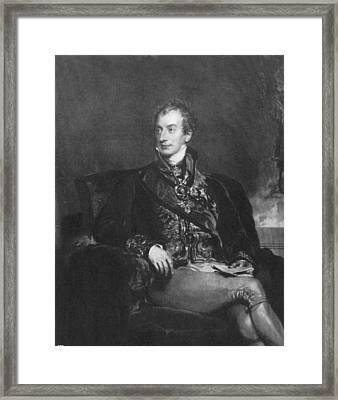 Clemens Metternich (1773-1859) Framed Print