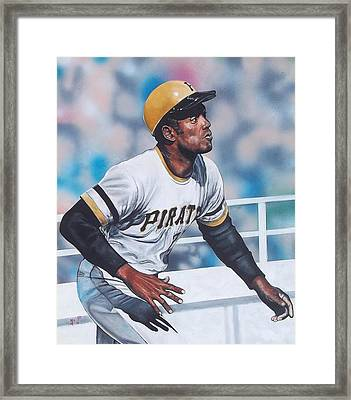 Clemente Framed Print by D A Nuhfer