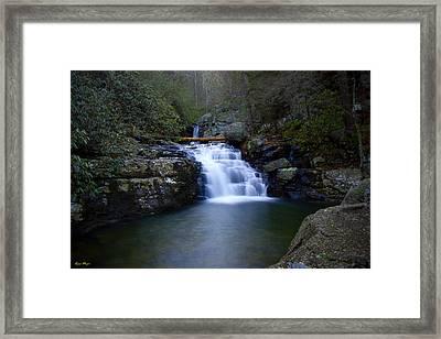Clemmer Falls Framed Print