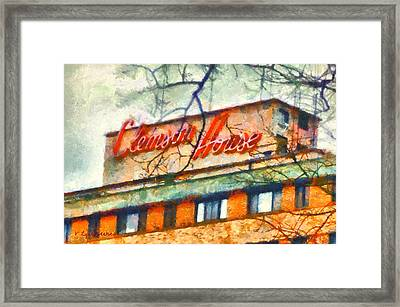 Clemson House Framed Print