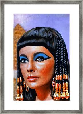 Cleopatra  Framed Print by Andrzej Szczerski