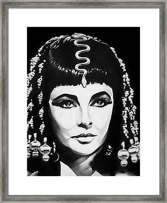 Cleopatra Framed Print by Jeff Stroman