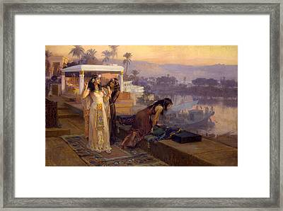 Cleopatra On The Terraces Of Philae Framed Print