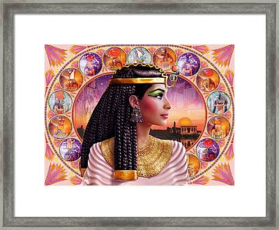 Cleopatra Variant 3 Framed Print by Andrew Farley