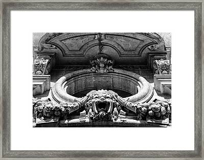 Clermont Architecture Framed Print by Georgia Fowler