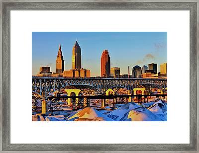 Cleveland Framed Print