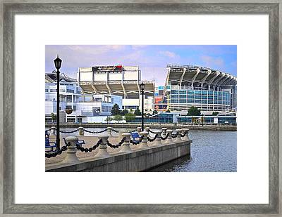 Cleveland Browns Stadium Framed Print