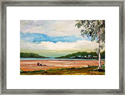 Cleveland Framed Print by Helen Syron