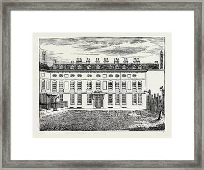 Cleveland House. 1799, London, Uk Framed Print by Litz Collection
