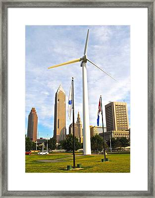 Cleveland Ohio Science Center Framed Print by Frozen in Time Fine Art Photography