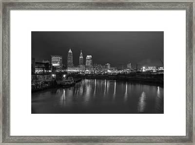 Cleveland Skyline  Framed Print