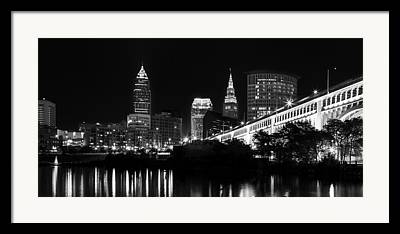 Cuyahoga River Framed Prints