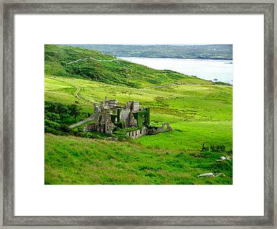 Clifden Castle Framed Print