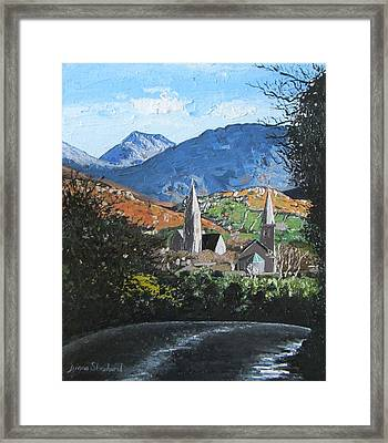 Clifden Town Connemara Co Galway Ireland Framed Print