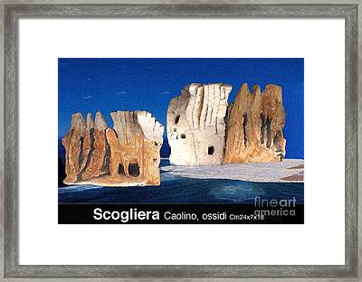 Cliff Framed Print by Ari Nunes