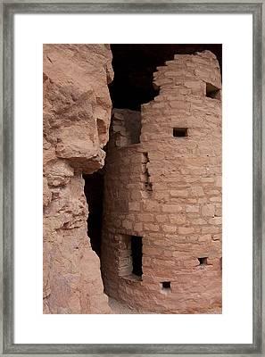 Cliff Dwelling Framed Print