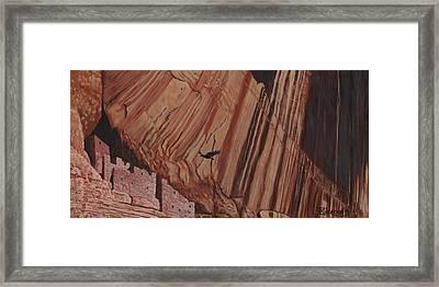 Cliff Home Framed Print