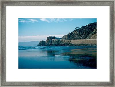 Cliff House 1956 Framed Print by Cumberland Warden