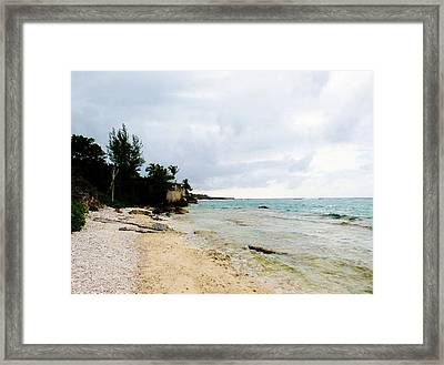Framed Print featuring the photograph Cliff House 2 by Amar Sheow