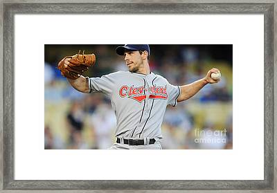 Cliff Lee Framed Print by Marvin Blaine