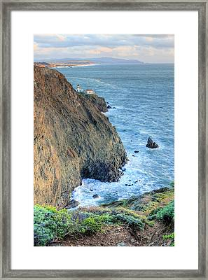 Cliffs Framed Print by JC Findley