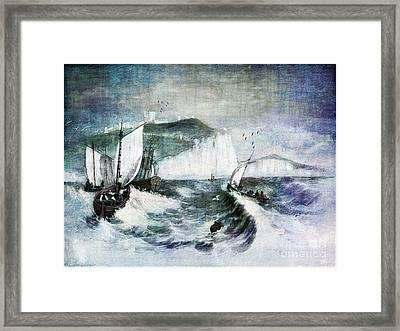 Cliffs Of Dover Framed Print