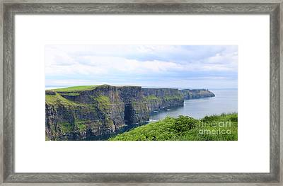 Cliffs Of Moher Panorama 3 Framed Print