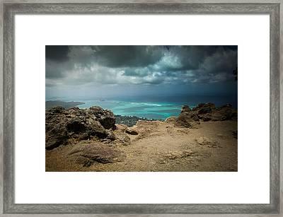 Cliffside Framed Print