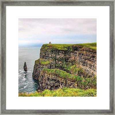 #cliffsofmoher #ireland #landscape Framed Print